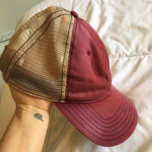 Free People Distressed Baseball Cap